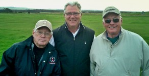 Bill Mershon (center) Jim MacArthur (l) & Neil Armstrong (r)